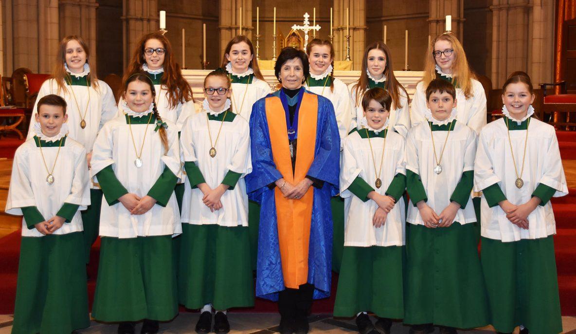 GCM Mary Archer Arundel Cathedral Choir