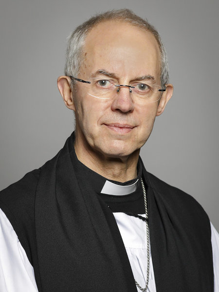 The Most Revd and Rt Hon the Lord Archbishop of Canterbury