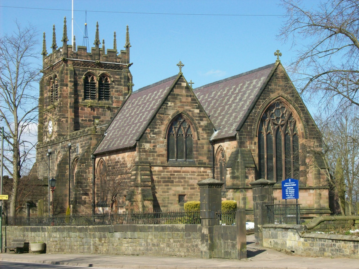 St Edward's Parish Church in Leek